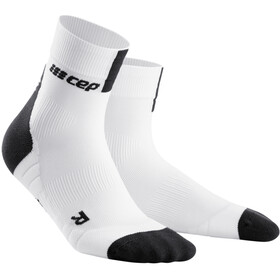 cep Short Socks 3.0 Hombre, white/dark grey